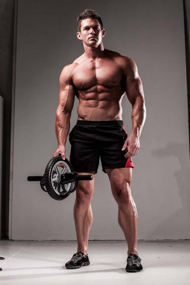Gavin Perry Shredded Male Aesthetic Physiques