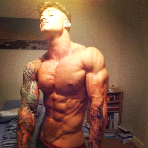 owen | SHREDDED male AESTHETIC physiques