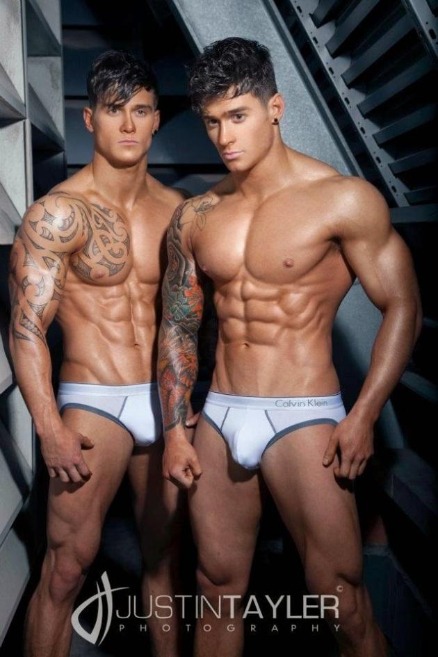 Owen and Lewis Harrison (2)