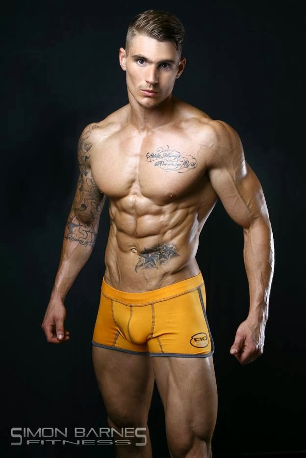 Ross Dickerson Shredded Male Aesthetic Physiques